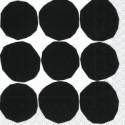 Serviettes Cocktail KIVET black white - Marimekko