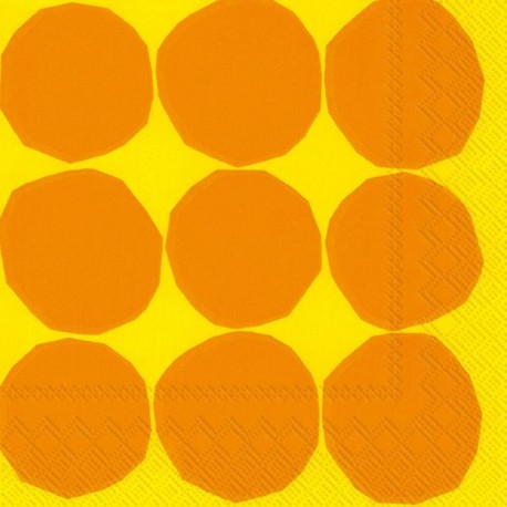 Serviettes L KIVET yellow - Marimekko