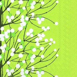Serviettes L LUMMARJA light green - Marimekko