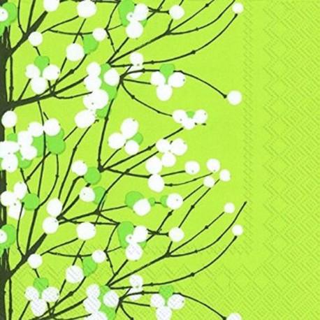 Serviettes L LUMMARJA light green - Marimekko