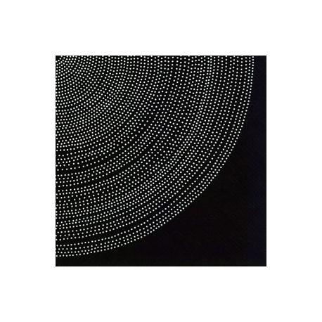 Serviettes L FOKUS black - Marimekko