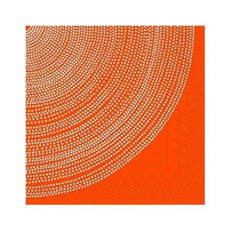 Serviettes C FOKUS orange - Marimekko