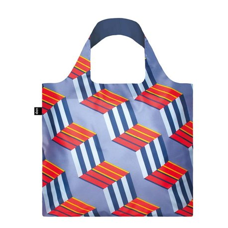 Reusable Bag Geometric Cubes - Loqi