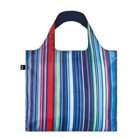 Reusable Bag Nautical Stripes - Loqi