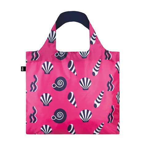 Reusable Bag Nautical Shells - Loqi