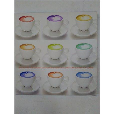 Cadre Café Domino - Dotspot