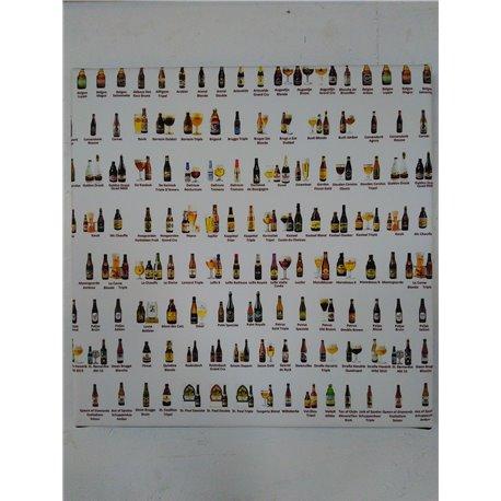 Cadre Belgium Beers - Dotspot