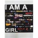 Cadre I Am A Girl - Dotspot