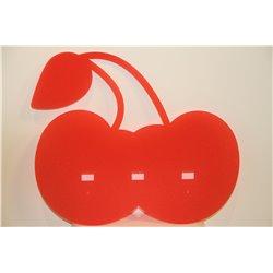 Portemanteau Cerises - Rouge Tomato - Gamz