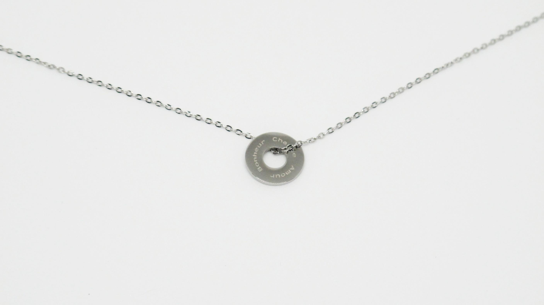 ZAG Bijoux Silver pendant necklace H00zSN15j