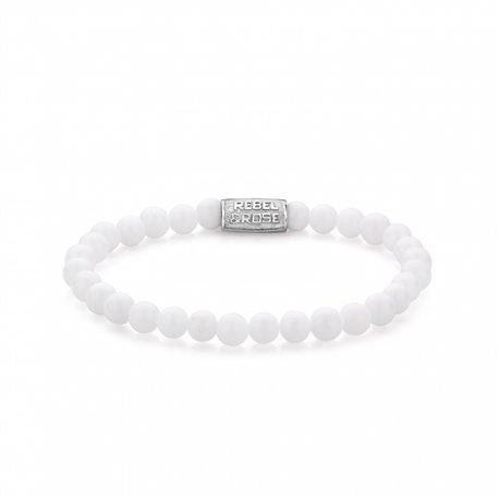 Bracelet Homme White Drake 6mm - Rebel & Rose