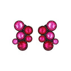 Boucles d'oreilles Inside Out pink - Konplott
