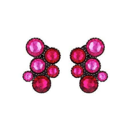 Boucles d'oreilles Inside Out pink - Konplott