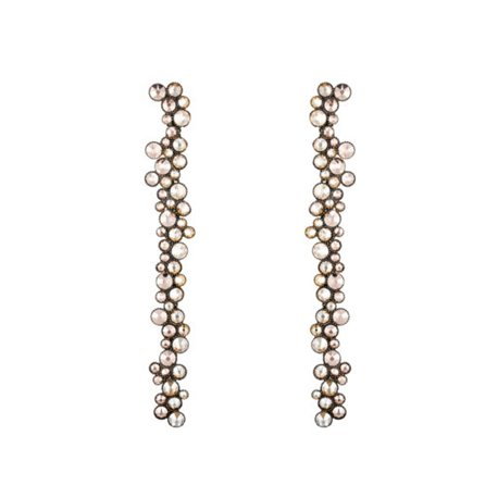 Earrings dangling Inside Out beige - Konplott