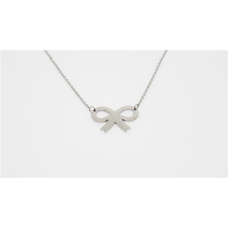 1370ce3f84d25 Ribbon silvered bracelet - Zag Bijoux