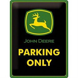 Tin Sign John Deere PO - Nostalgic Art