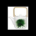 "Porcelain teapot ""Rainforest"" - Ard'time"