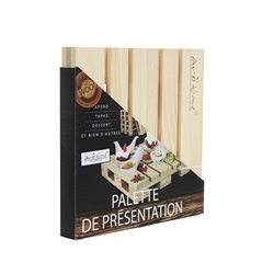 Wooden presentation pallet - Ard'time