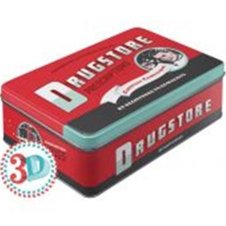 Tin box flat Drugstore - Nostalgic Art