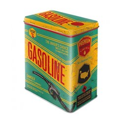 Tin box L Gasoline - Nostalgic Art