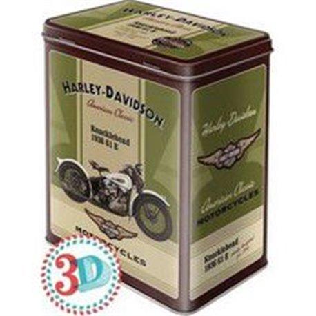 Tin box L Harley Davidson - Nostalgic Art