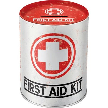Money Box First aid Kit - Nostalgic Art