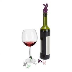 Drinking Buddy Charms & Topper Set - Umbra