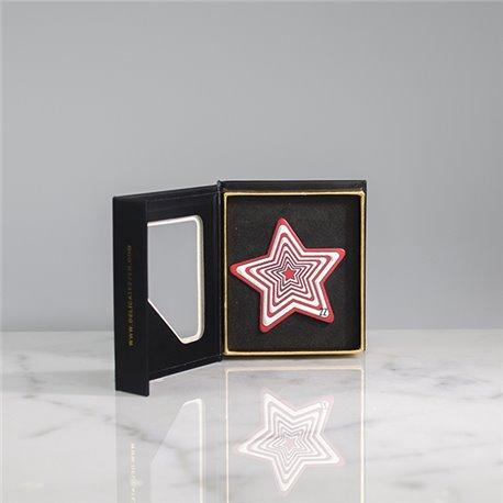 Luxury Sticker Red Star - Delicatezzen