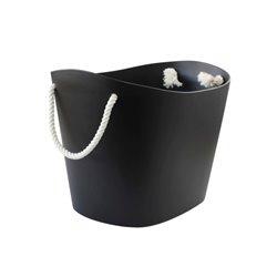 Medium Black Balcolore Basket - Hachiman