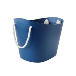 Medium Blue Balcolore Basket - Hachiman