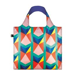 Sac réutilisable geometric triangles - Loqi