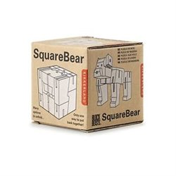 Puzzle square bear - Kikkerland