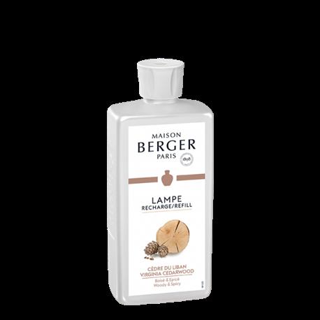 Recharge Cèdre du Liban 500 ml - Lampe Berger Paris