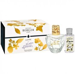Coffret bouquet parfumé 400ml + recharge Transparente - Berger + Lolita Lempicka