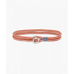 Bracelet Don Dino ivory coral red silver M - PIG & HEN