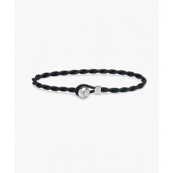 Bracelet Easy Ed navy silver M - PIG & HEN