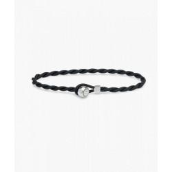 Bracelet Easy Ed navy silver L - PIG & HEN