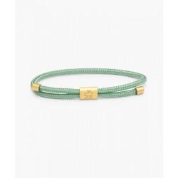 Bracelet Little Lewis Mint Green Gold S - PIG & HEN