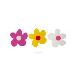 3 Flower Magnets - Basta Design