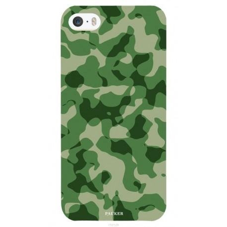 Coque I phone 5/5s Mil vert -Pauker