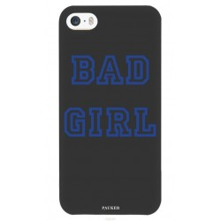 Coque iPhone 5/5S/5SE Bad girl - Pauker